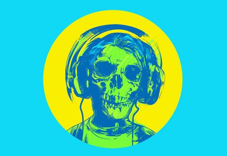 Skull: vector design